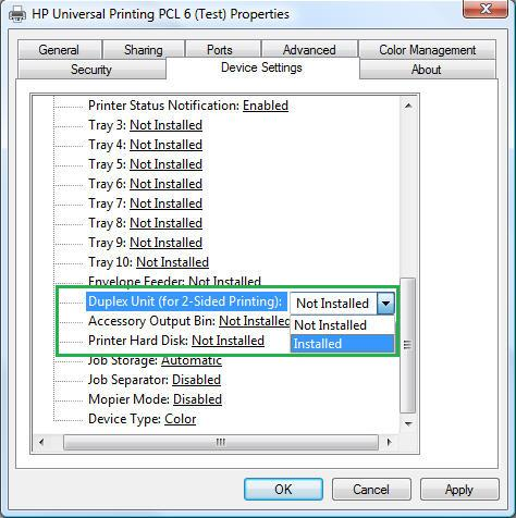 HP Universal PCL Printer Drivers for Windows Download