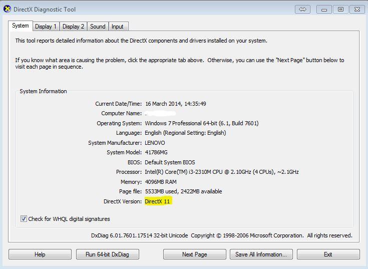 скачать бесплатно директ 9 для Windows 7 - фото 6