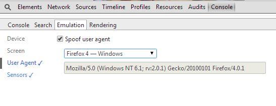 Chrome_Emulation
