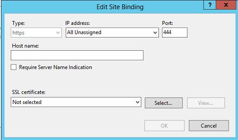 SiteBinding